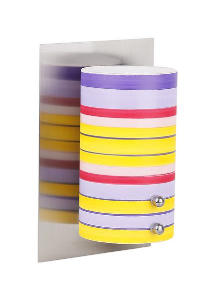 Kinkiet nikiel mat kolorowy lampa Fresco 21-82018