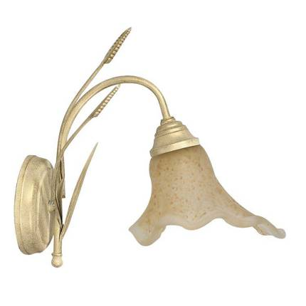 Kinkiet złoty lampa ścienna Klos 321663