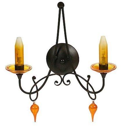 LAMPA ŚCIENNA CANDELLUX WYPRZEDAŻ 22-84715 L&H CASTEL KINKIET 2*40W G9