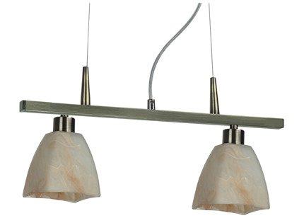 LAMPA SUFITOWA CANDELLUX WYPRZEDAŻ 32-00050 COMO ZWIS 2X40W E14 PATYNA