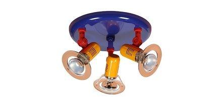 LAMPA SUFITOWA CANDELLUX WYPRZEDAŻ 33-01682 L&H  BABY-SPOT PLAFON 3X40W E14 MULTIKOLOR