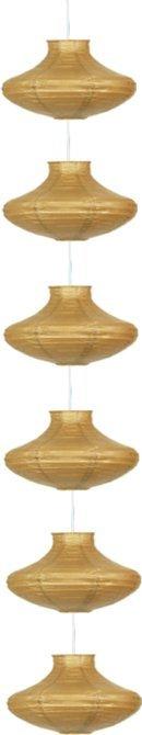 LAMPA SUFITOWA CANDELLUX WYPRZEDAŻ 3494061-14 GRIFF - ZWIS /6 PAPIEROWY ŚR.25 CAPPUCINO E-14 40W