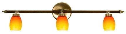 LAMPA SUFITOWA CANDELLUX WYPRZEDAŻ 93-81073 OLIVIA LISTWA 3X40W G9 PATYNA RAINBOW