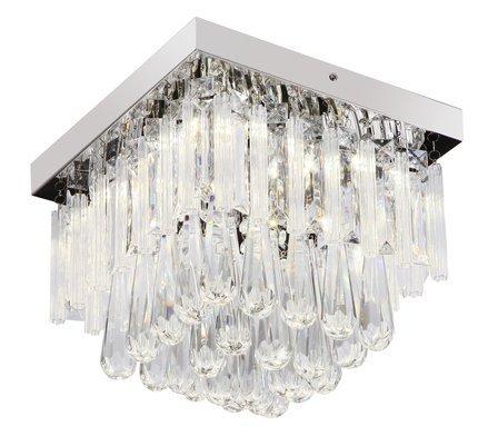 LAMPA SUFITOWA CANDELLUX WYPRZEDAŻ 98-44785 VIDIRO PLAFON 18W LED CHROM