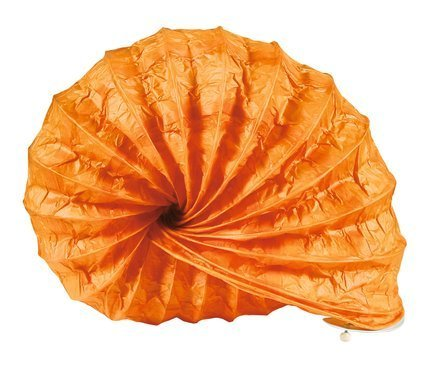 Lampka biurkowa papierowa nocna pomarańczowa 40W Ślimak Candellux 41-88386