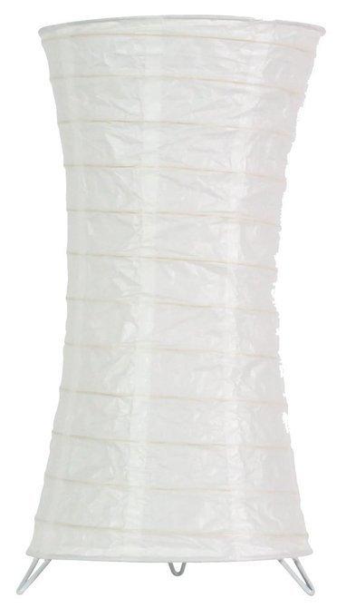 Lampka stojąca papierowa biała nocna 60W E14 Tai Candellux 5096911-00