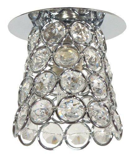 Oprawa stropowa chrom bezbarwny kryształ 40W G9 SK-72 Candellux 2203966