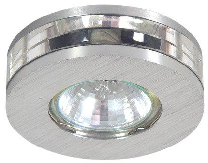 Oprawa stropowa satynowa okrągła aluminiowa MR16 SA-05 Candellux 2224565