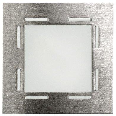 Plafon nikiel mat lampa sufitowa G9 40W Techno Candellux 10-73849