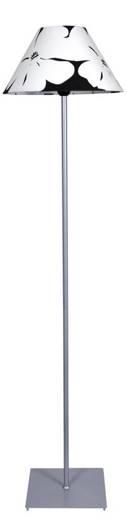 LAMPA PODŁOGOWA  CANDELLUX WYPRZEDAŻ 51-02436 L&H ELIADA LAMPA PODŁOGOWA 1X60W E27 SREBRO BIAŁY
