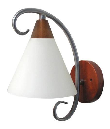 LAMPA ŚCIENNA CANDELLUX WYPRZEDAŻ 21-27538 SALEM KINKIET 1X60W E27 SATYNA NIKIEL