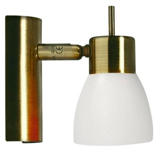 LAMPA ŚCIENNA CANDELLUX WYPRZEDAŻ 91-85439 VENICE  KINKIET 1*40W G9 POMARAŃCZOWY