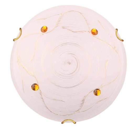 LAMPA SUFITOWA CANDELLUX WYPRZEDAŻ 13-32860 FLUO PLAFON 30 1X60W E27 ZŁOTY