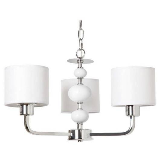 LAMPA SUFITOWA CANDELLUX WYPRZEDAŻ 33-38531 WANAT ZWIS 3X60W E27 CHROM