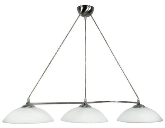 LAMPA SUFITOWA CANDELLUX WYPRZEDAŻ 33-72170 LIDO ZWIS  3X60W E27 SATYNA NIKIEL