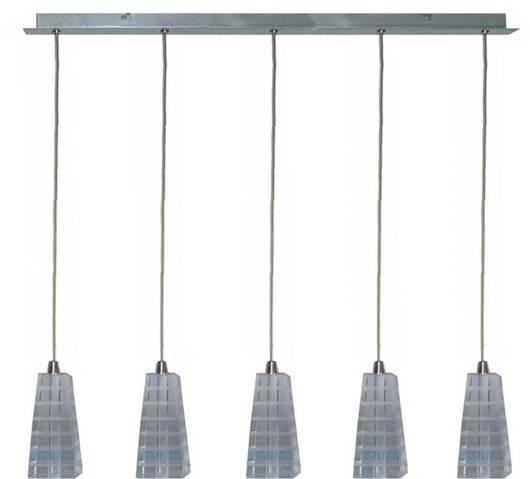 LAMPA SUFITOWA CANDELLUX WYPRZEDAŻ 35-18604 EMO ZWIS 5XG4 20W CHROM