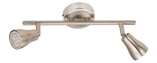 LAMPA SUFITOWA CANDELLUX WYPRZEDAŻ 92-15207 JAWA LISTWA 2X7W GU10 ENERGO  NIKEL MATT