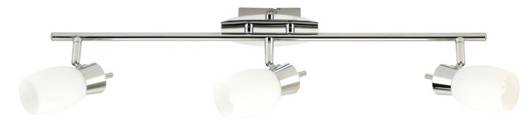 LAMPA SUFITOWA CANDELLUX WYPRZEDAŻ 93-28276 MANGO LISTWA 3X40W G9 CHROM