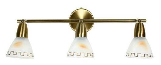 LAMPA SUFITOWA CANDELLUX WYPRZEDAŻ 93-89901 PARNAS LISTWA 3X40W E14 PATYNA