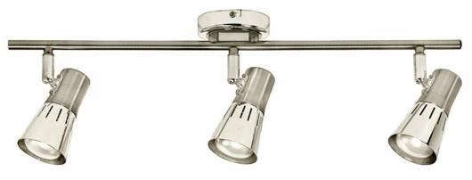 LAMPA SUFITOWA CANDELLUX WYPRZEDAŻ 93-94790 ARENA LISTWA 3*40W R50 E14 NIKIEL MAT