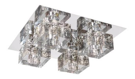 LAMPA SUFITOWA CANDELLUX WYPRZEDAŻ 98-16754 SABIA PLAFON 4X40W G9 CHROM