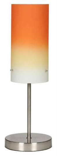 LAMPKA BIURKOWA CANDELLUX WYPRZEDAŻ 41-10455 VITO LAMPKA 1X60W E27 NIKIEL MAT/RAINBOW