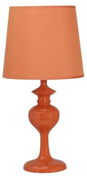 Lampka stołowa nocna pomarańczowa E14 40W Berkane Candellux 41-11718