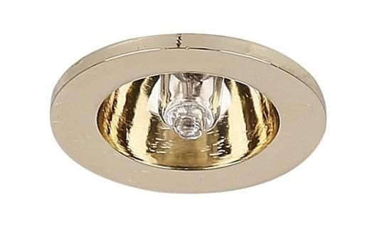Oprawa stropowa punktowa okrągła stała mosiądz G4 PO-02 Candellux 2208835