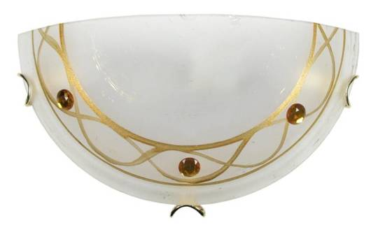 Plafon bursztynowy szklany lampa ścienna 60W E27 Giara Candellux 11-16709