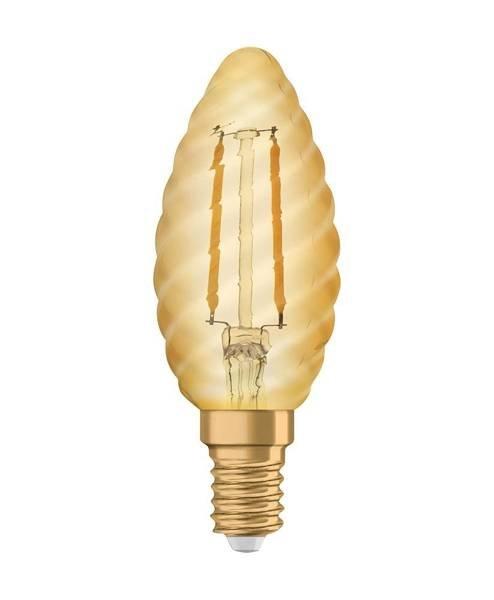 Żarówka LED E14 2,5W 220LM 2400K VINTAGE BW22 świeca OSRAM