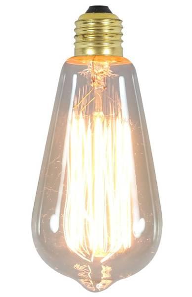 Żarówka dekoracyjna bezbarwna Edison E27 60W 3030948 Candellux